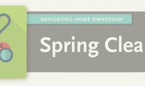 4 spring cleaning tips for new homeowners